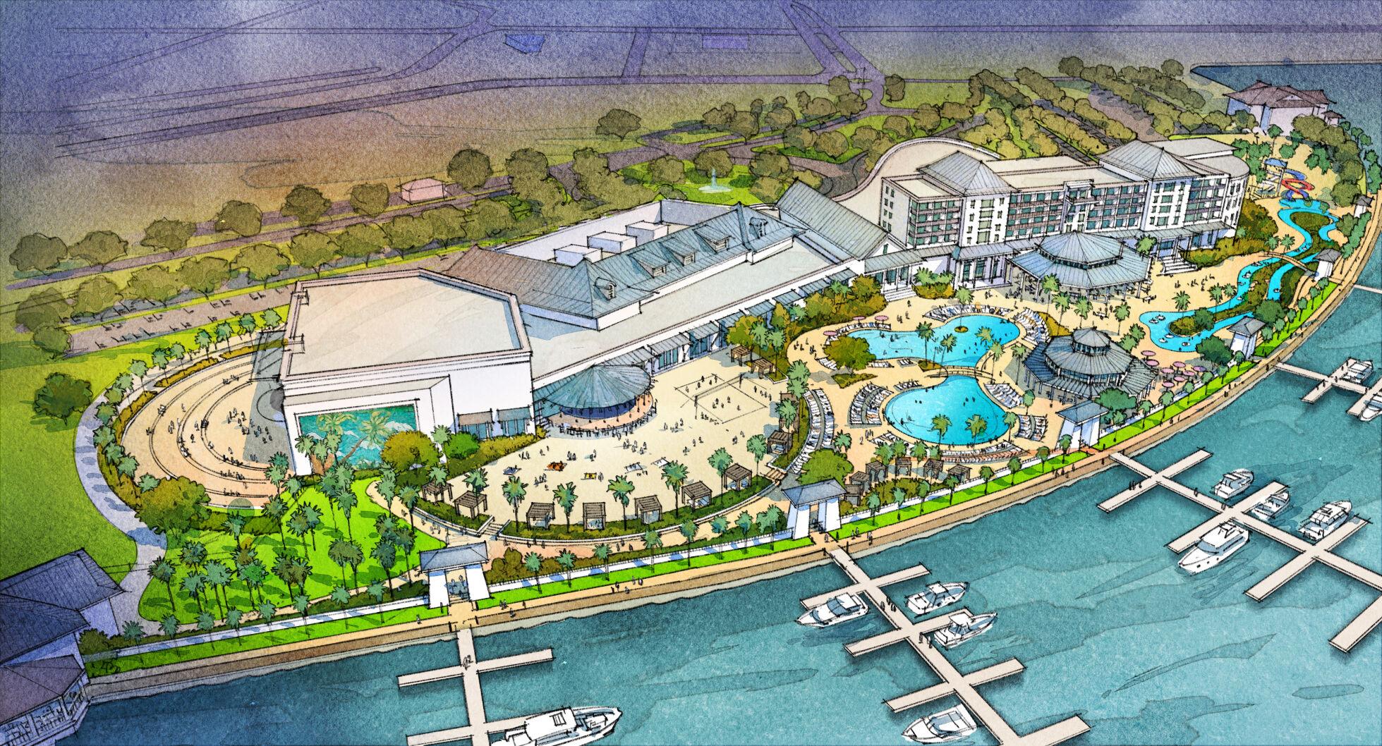 A $325 million casino is proposed in the Oak Harbor area near Slidell.