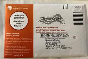 MOST OAKLANDERS PLAN TO VOTE BY MAIL article image