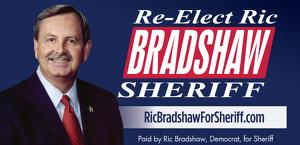 Ric Bradshaw for Sheriff Logo