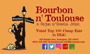 Bourbon n' Toulouse Logo