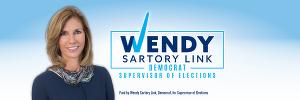Wendy Sartory Link for Supervisor Logo