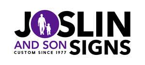 Joslins & Son Signs Logo