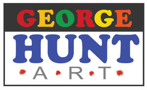 George Hunt Art Logo